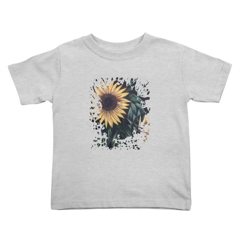 Sunflower Life Kids Toddler T-Shirt by adamzworld's Artist Shop