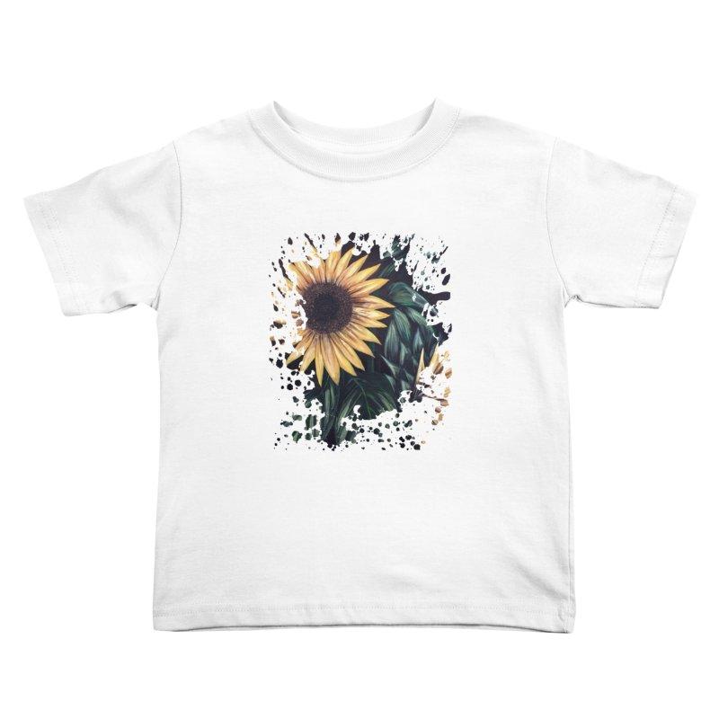 Sunflower Life Kids Toddler T-Shirt by adamzworld's Artist Shop