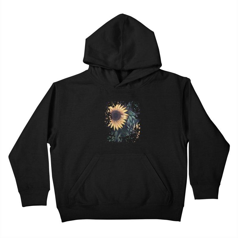 Sunflower Life Kids Pullover Hoody by adamzworld's Artist Shop