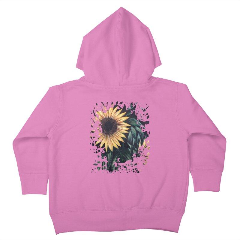 Sunflower Life Kids Toddler Zip-Up Hoody by adamzworld's Artist Shop
