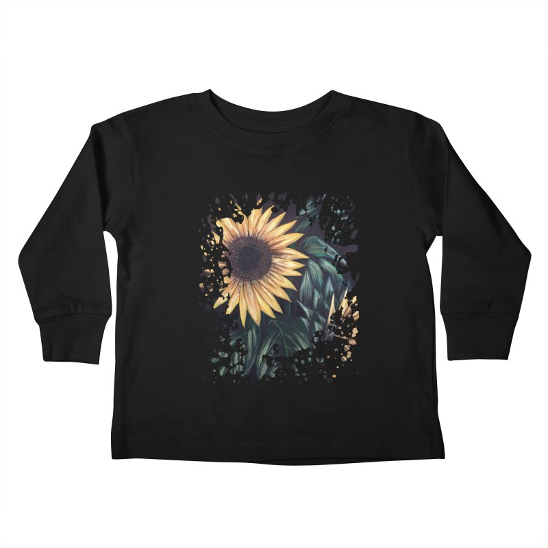 Sunflower Life Kids Toddler Longsleeve T-Shirt by adamzworld's Artist Shop