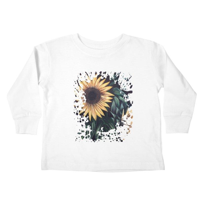 Sunflower Life Kids Toddler Longsleeve T-Shirt by adamzworld's Artist Shop