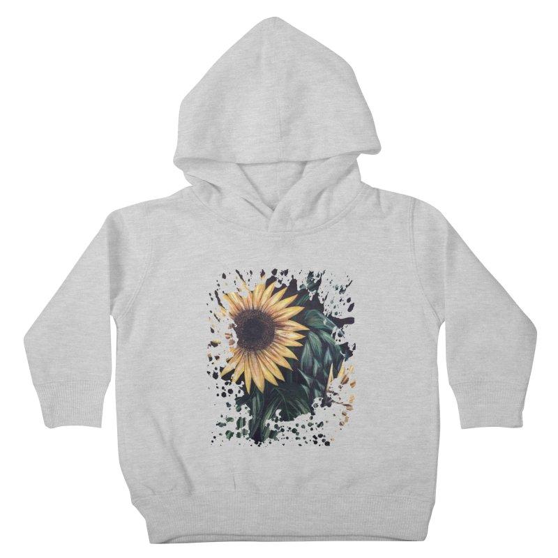 Sunflower Life Kids Toddler Pullover Hoody by adamzworld's Artist Shop
