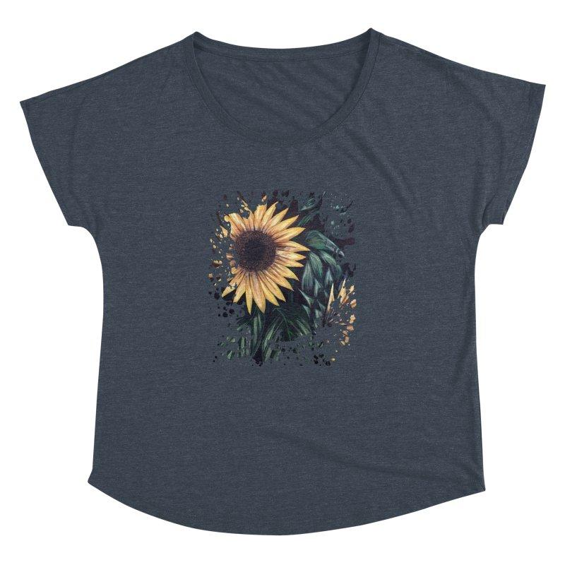 Sunflower Life Women's Dolman by adamzworld's Artist Shop