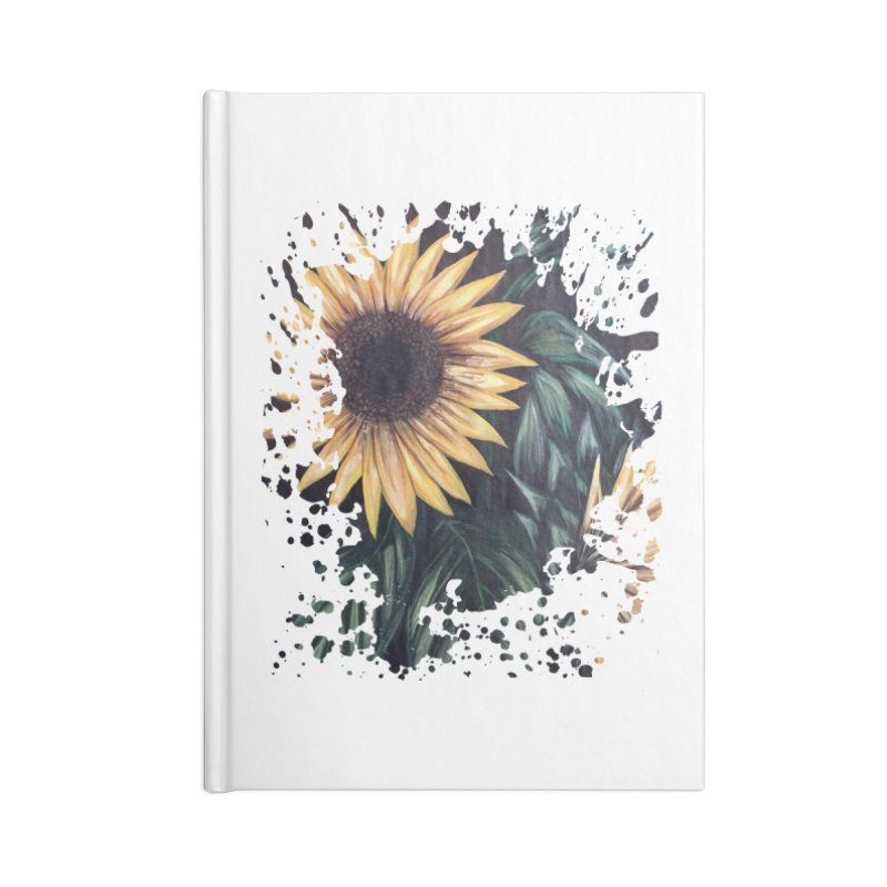 Sunflower Life Accessories Notebook by adamzworld's Artist Shop