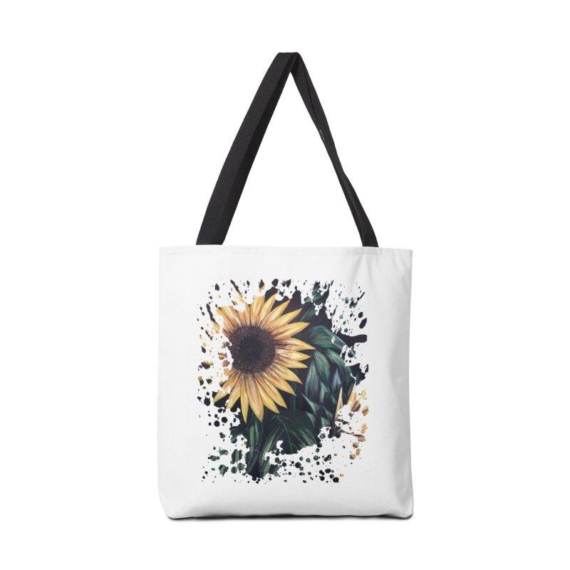 Sunflower Life Accessories Bag by adamzworld's Artist Shop