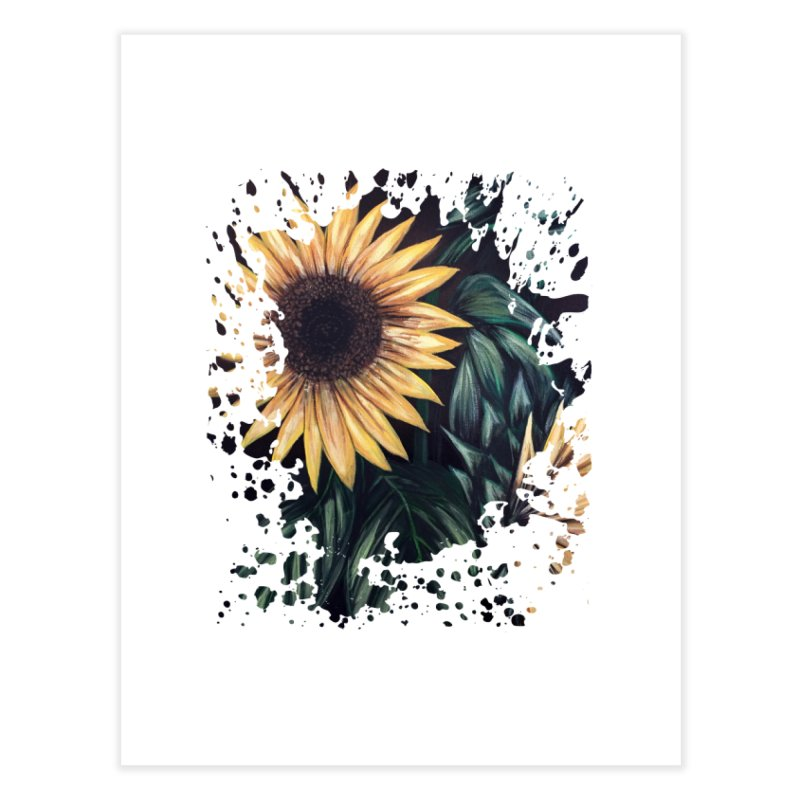 Sunflower Life Home Fine Art Print by adamzworld's Artist Shop
