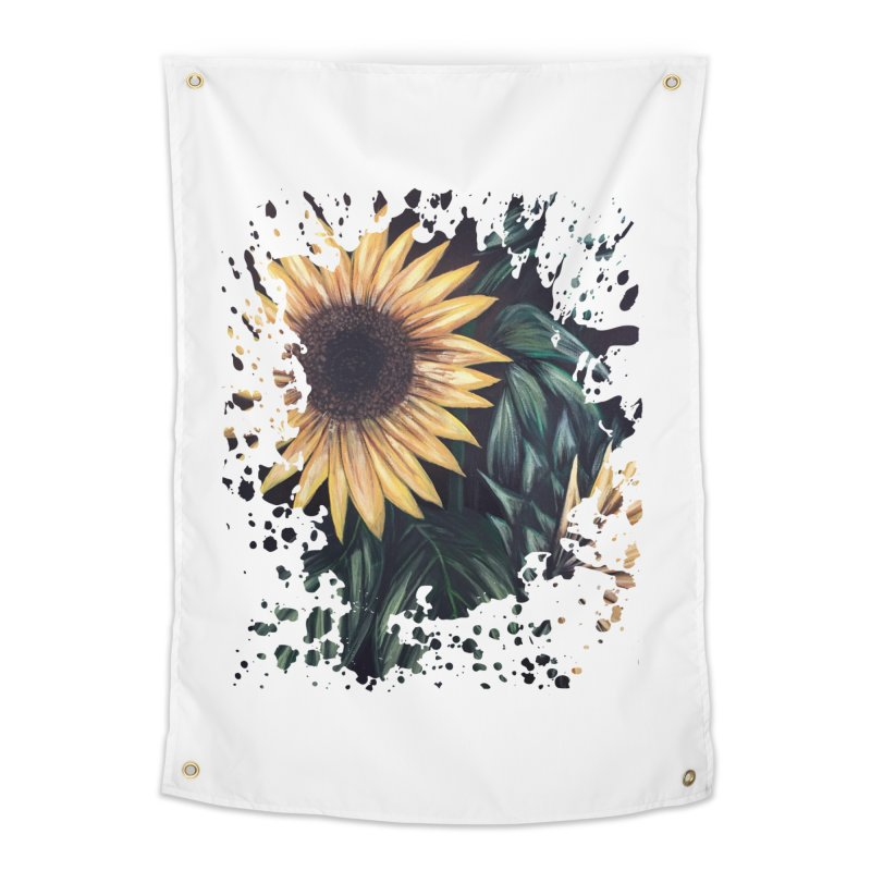 Sunflower Life Home Tapestry by adamzworld's Artist Shop