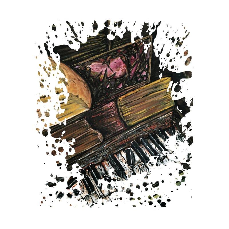 Broken Piano by adamzworld's Artist Shop