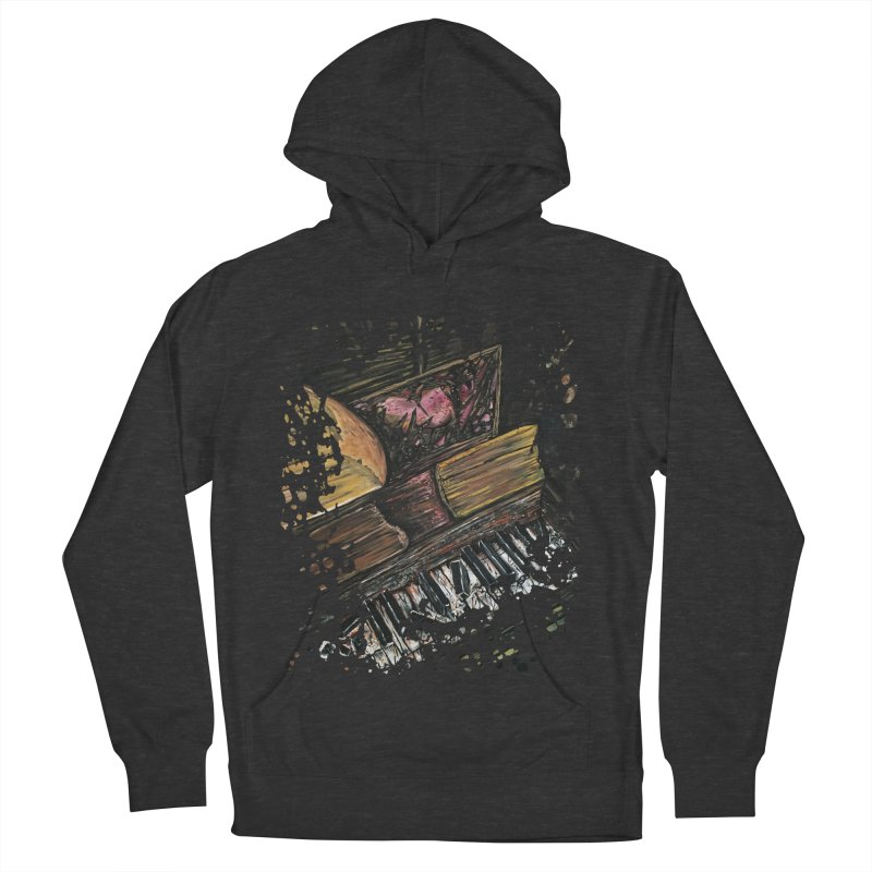 Broken Piano Women's Pullover Hoody by adamzworld's Artist Shop