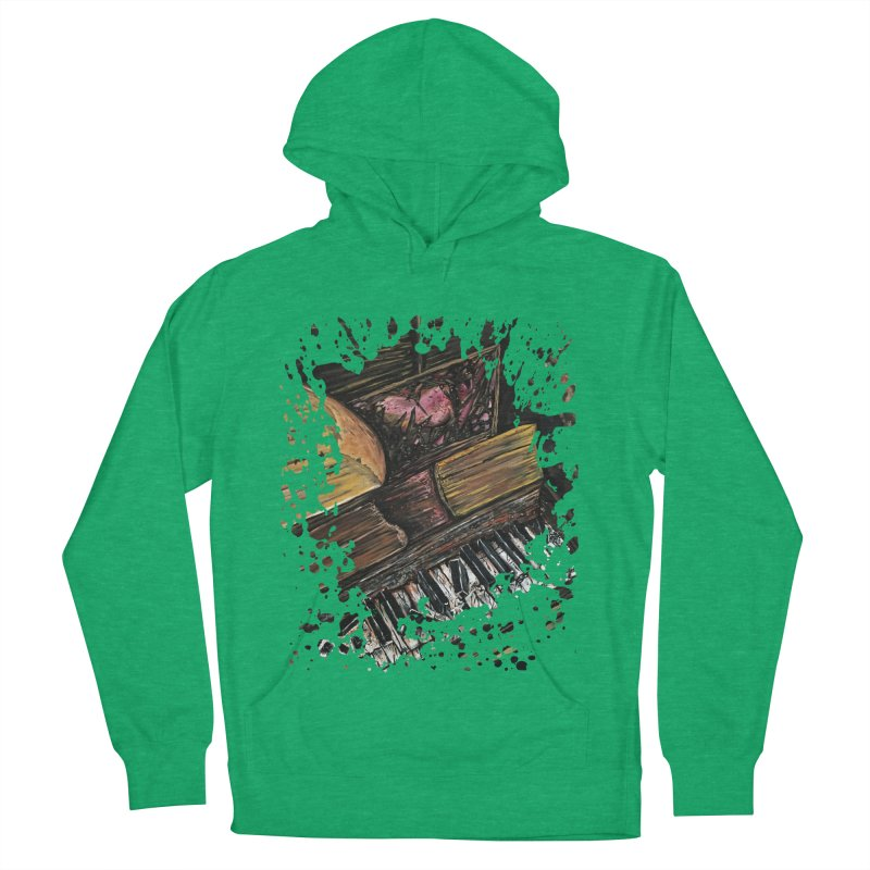 Broken Piano Men's Pullover Hoody by adamzworld's Artist Shop
