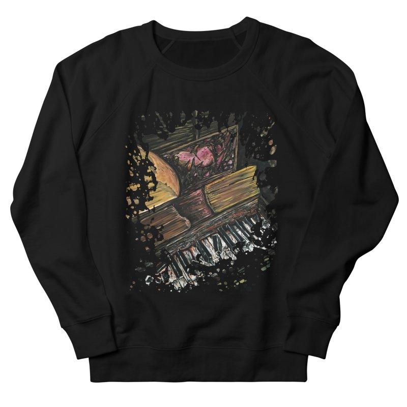Broken Piano Men's Sweatshirt by adamzworld's Artist Shop