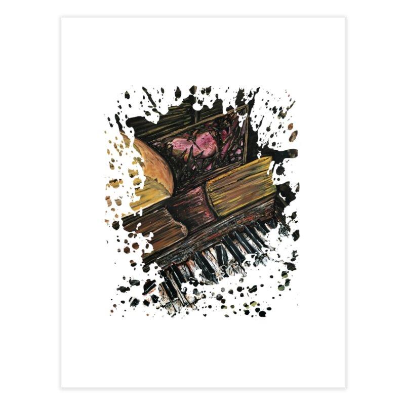 Broken Piano Home Fine Art Print by adamzworld's Artist Shop