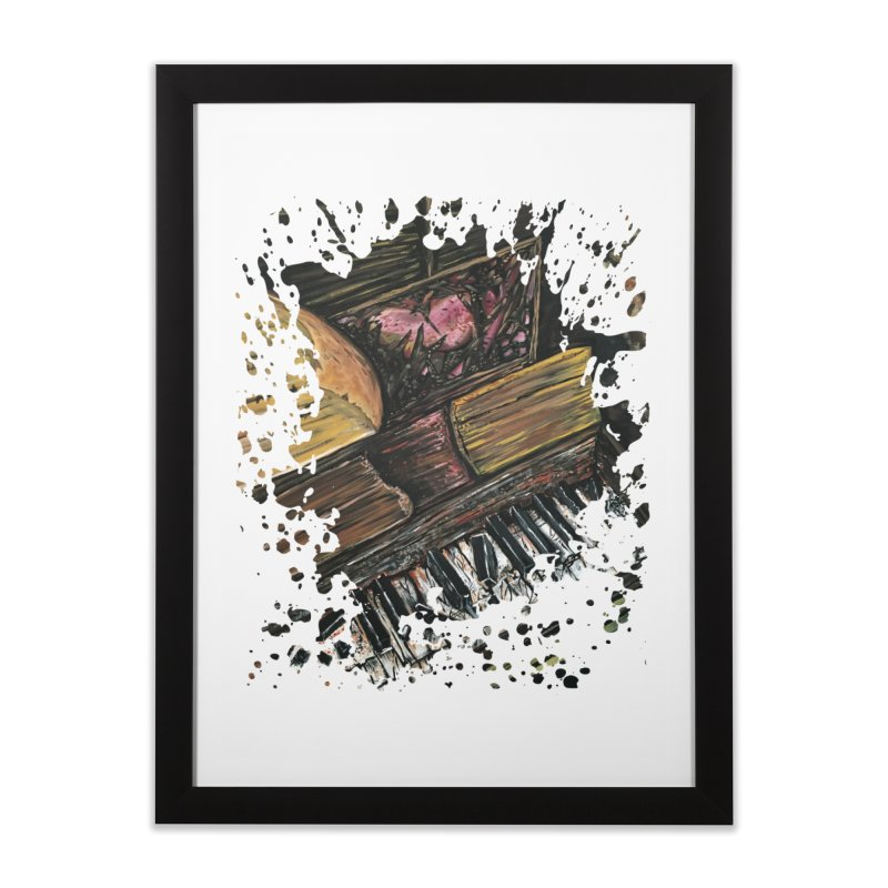 Broken Piano Home Framed Fine Art Print by adamzworld's Artist Shop