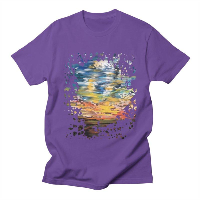 Sundown Men's T-shirt by adamzworld's Artist Shop