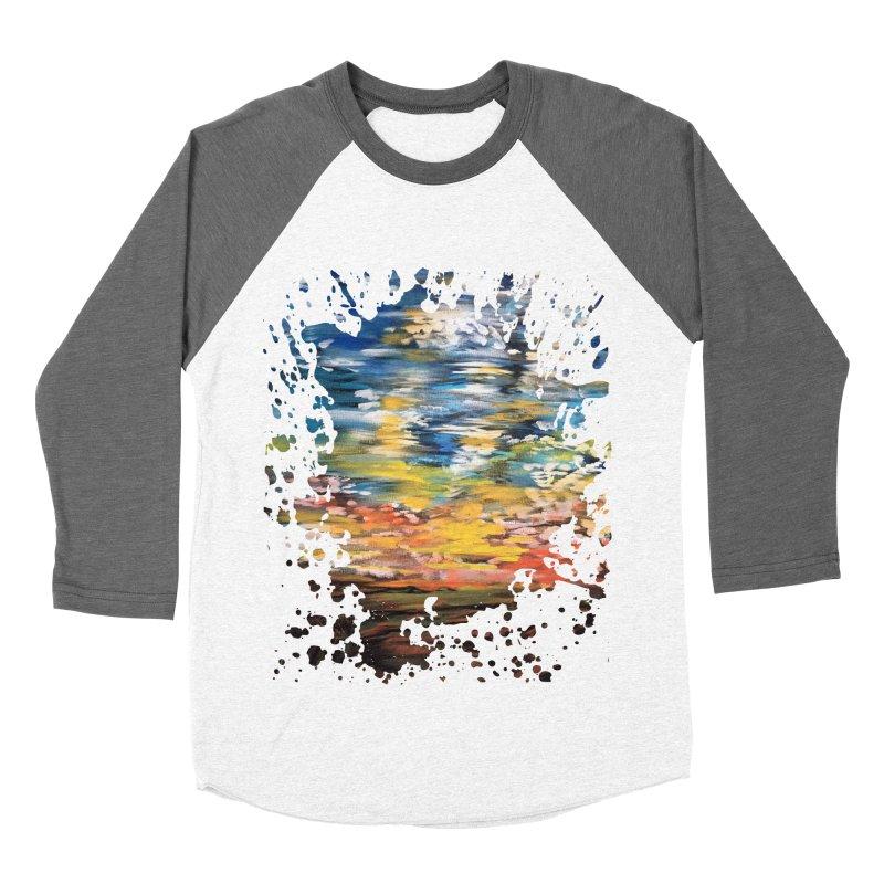 Sundown Men's Baseball Triblend T-Shirt by adamzworld's Artist Shop