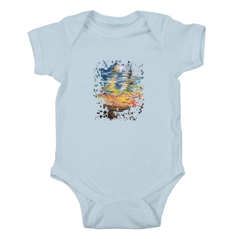 Sundown Kids Baby Bodysuit by adamzworld's Artist Shop