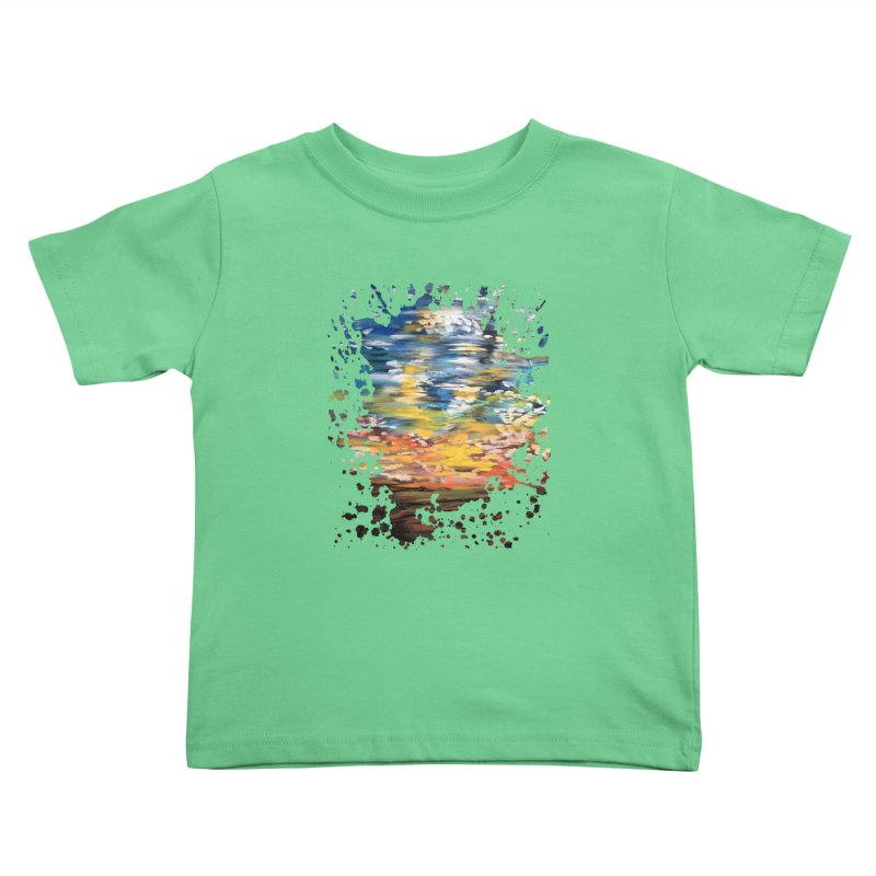 Sundown Kids Toddler T-Shirt by adamzworld's Artist Shop