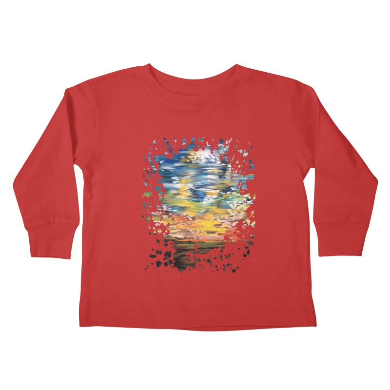 Sundown Kids Toddler Longsleeve T-Shirt by adamzworld's Artist Shop