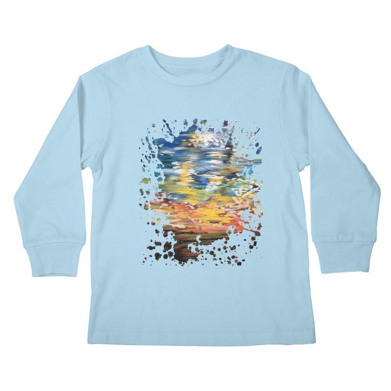 Sundown Kids Longsleeve T-Shirt by adamzworld's Artist Shop