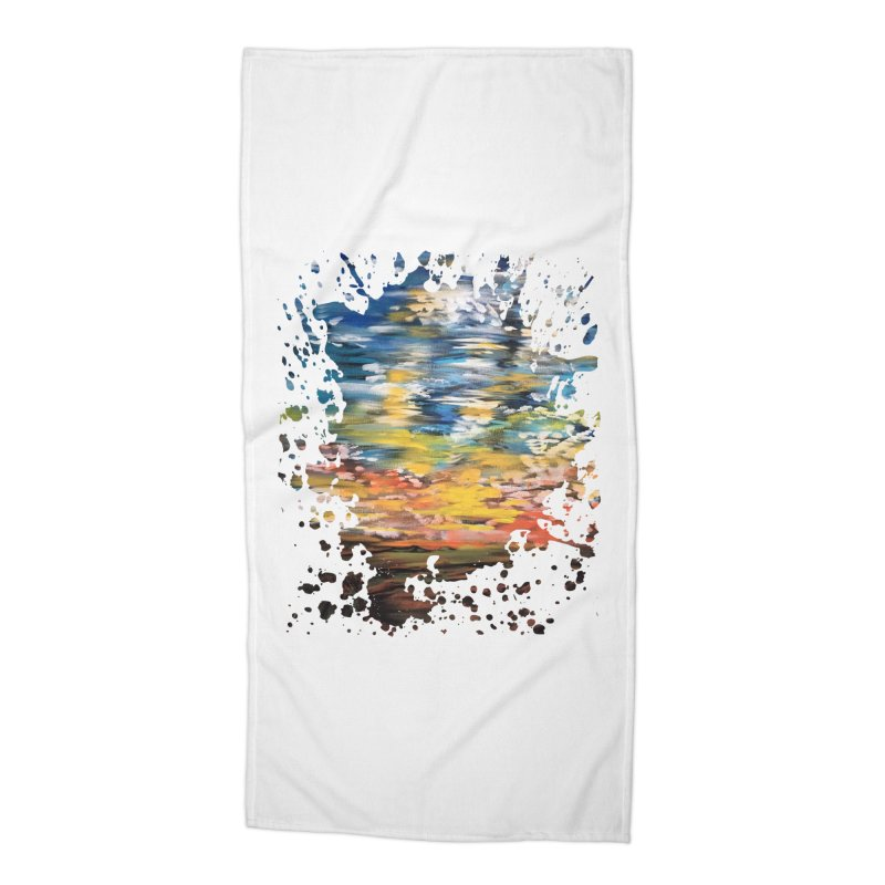 Sundown Accessories Beach Towel by adamzworld's Artist Shop