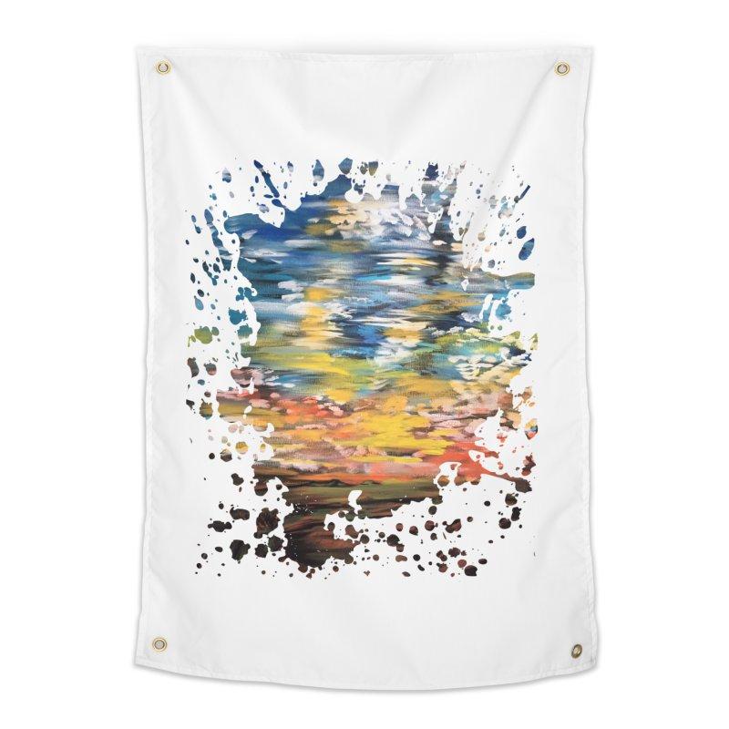 Sundown Home Tapestry by adamzworld's Artist Shop