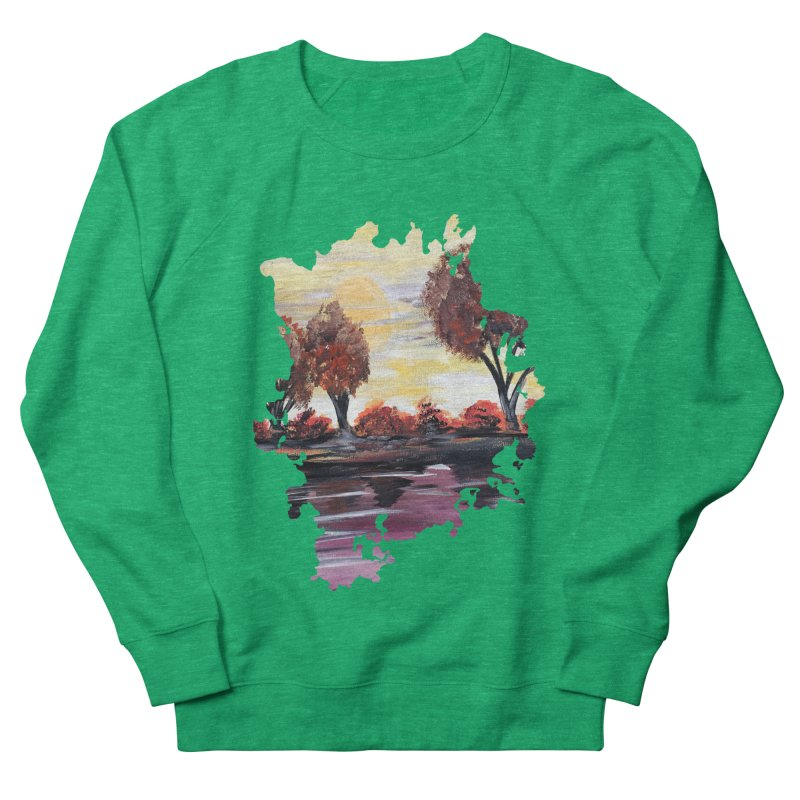 Autumn Sundown Women's Sweatshirt by adamzworld's Artist Shop