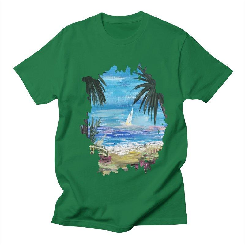 Caribbean Getaway Women's Unisex T-Shirt by adamzworld's Artist Shop