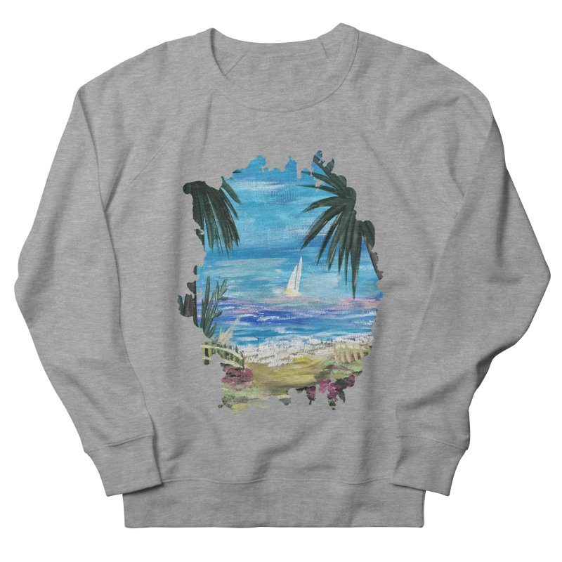 Caribbean Getaway Women's Sweatshirt by adamzworld's Artist Shop
