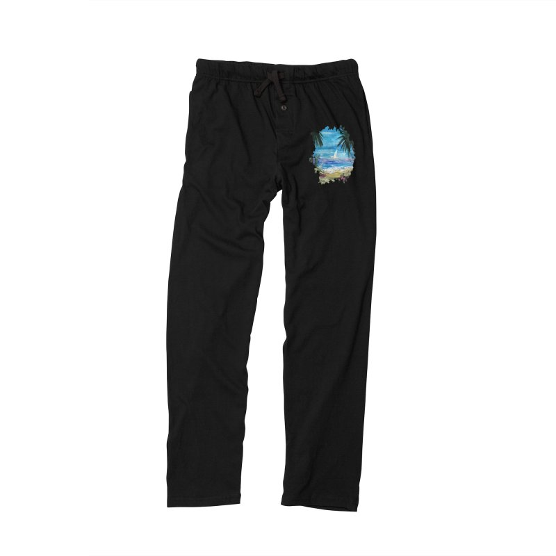 Caribbean Getaway Men's Lounge Pants by adamzworld's Artist Shop