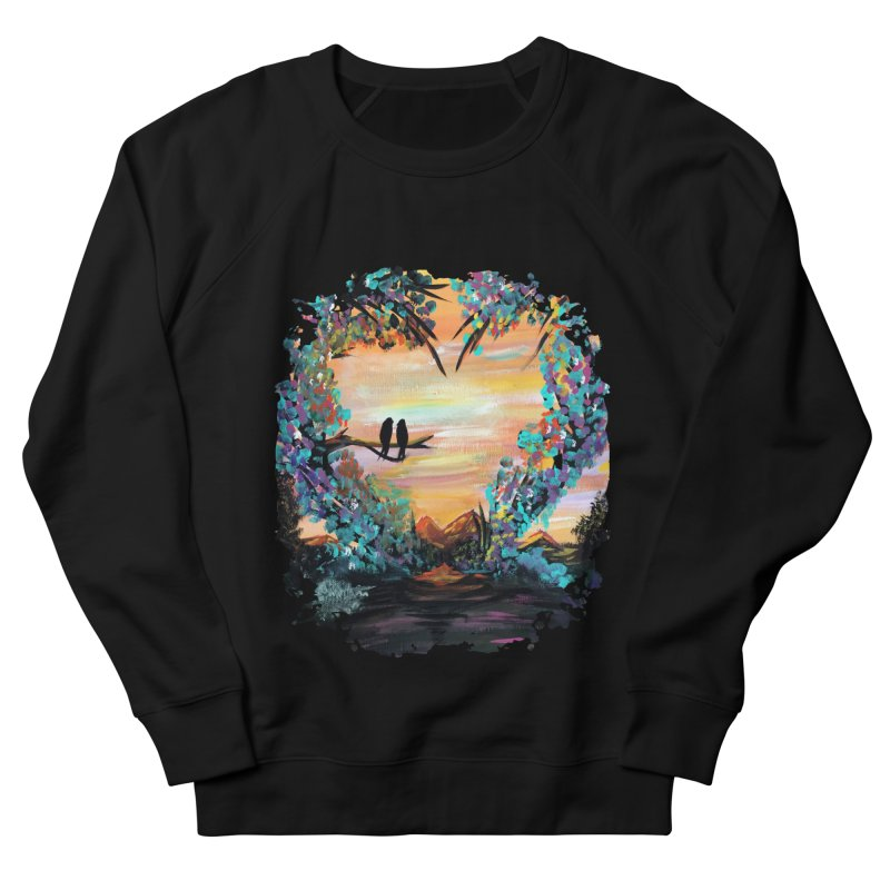 Natures Love Women's Sweatshirt by adamzworld's Artist Shop