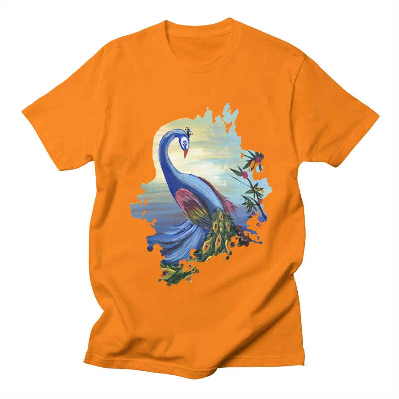 Peacock Life Women's Unisex T-Shirt by adamzworld's Artist Shop
