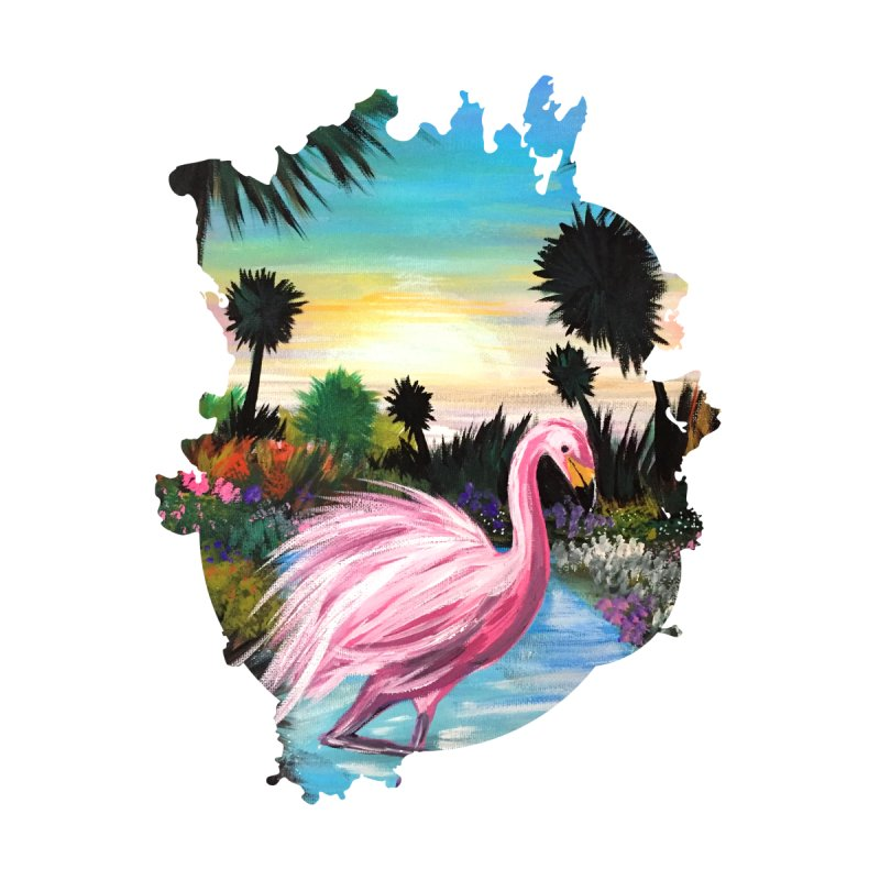 Flamingo Paradise by adamzworld's Artist Shop