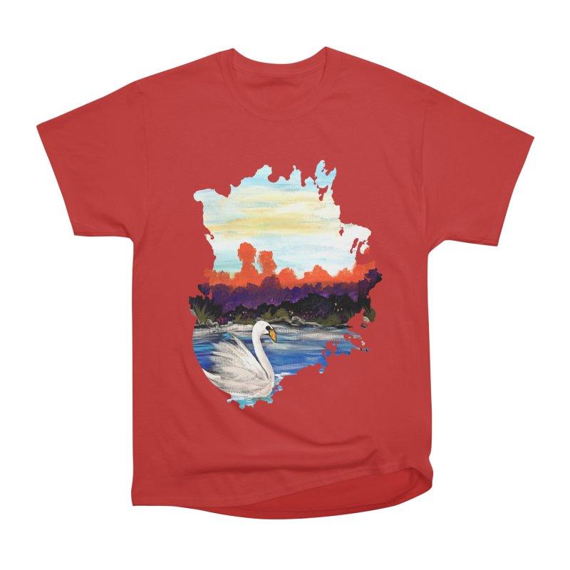 Swan Life Women's Classic Unisex T-Shirt by adamzworld's Artist Shop
