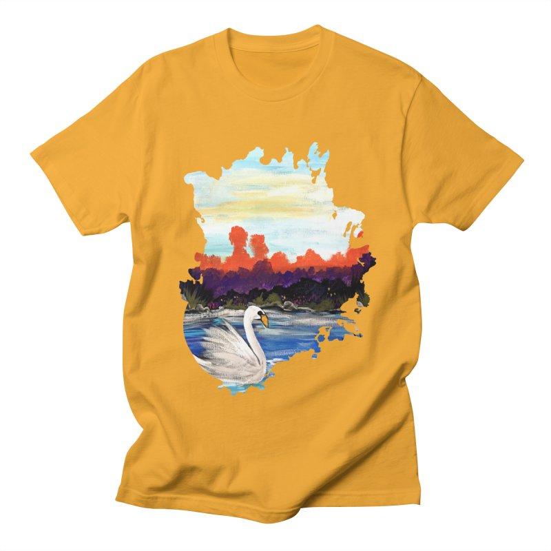 Swan Life Women's Unisex T-Shirt by adamzworld's Artist Shop