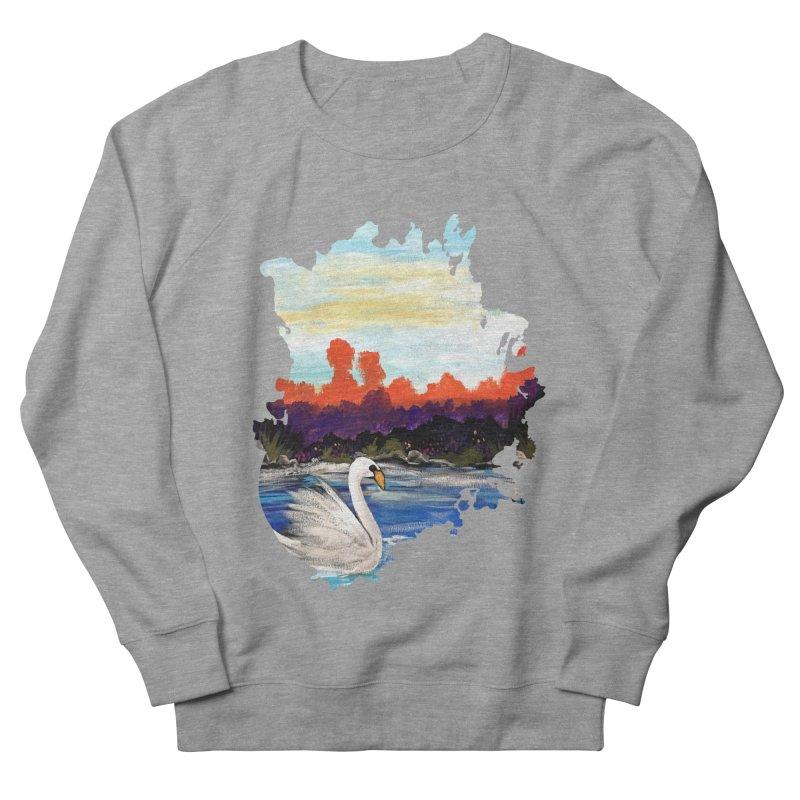 Swan Life Women's Sweatshirt by adamzworld's Artist Shop