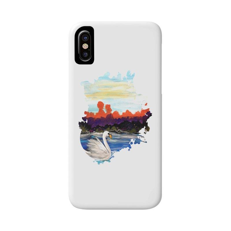 Swan Life Accessories Phone Case by adamzworld's Artist Shop