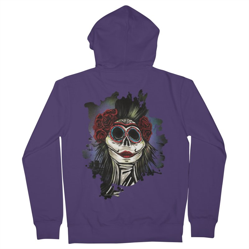 Night Of The Dead Women's Zip-Up Hoody by adamzworld's Artist Shop