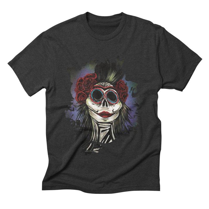 Night Of The Dead Men's Triblend T-shirt by adamzworld's Artist Shop