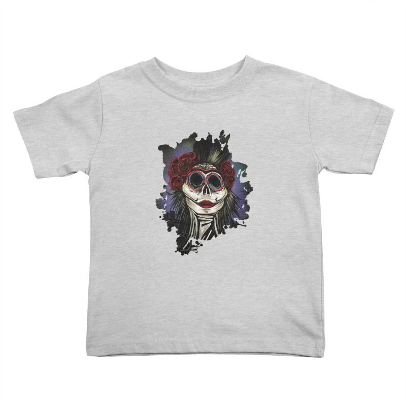 Night Of The Dead Kids Toddler T-Shirt by adamzworld's Artist Shop