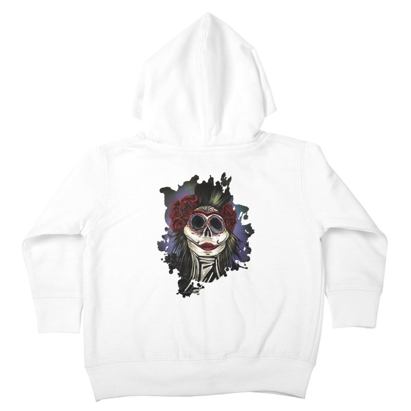 Night Of The Dead Kids Toddler Zip-Up Hoody by adamzworld's Artist Shop