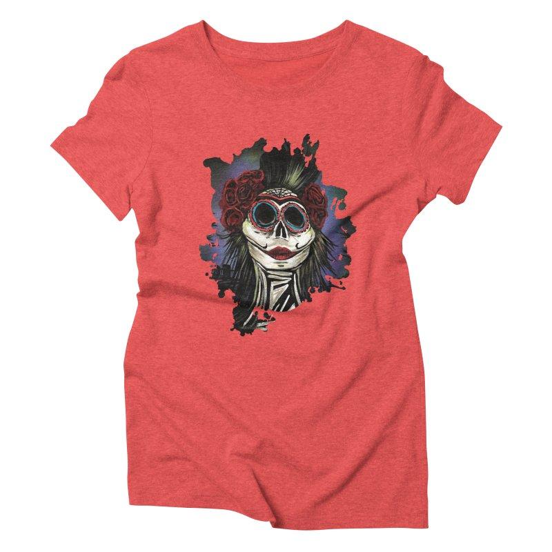 Night Of The Dead Women's Triblend T-shirt by adamzworld's Artist Shop