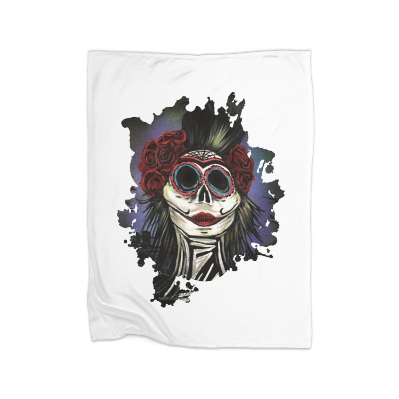 Night Of The Dead Home Blanket by adamzworld's Artist Shop