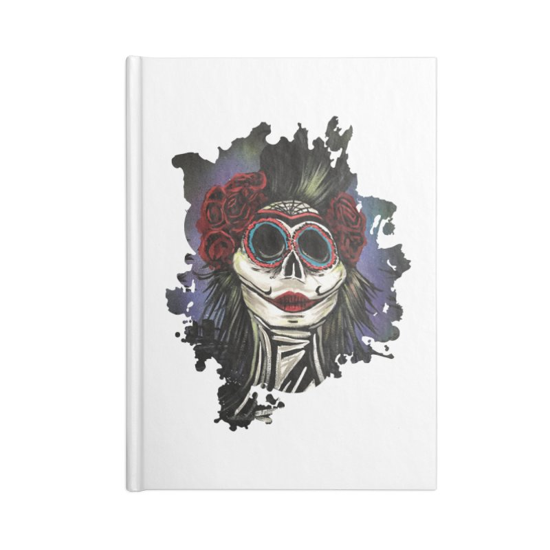 Night Of The Dead Accessories Notebook by adamzworld's Artist Shop