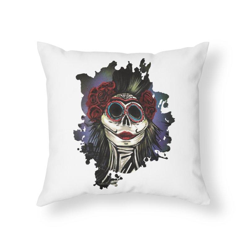 Night Of The Dead Home Throw Pillow by adamzworld's Artist Shop