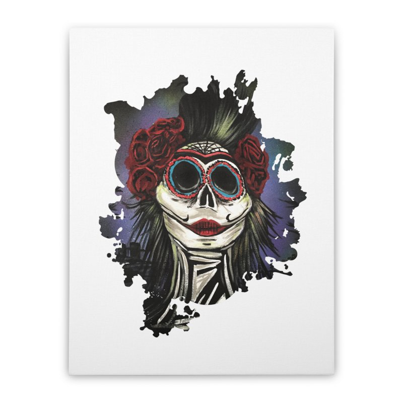 Night Of The Dead Home Stretched Canvas by adamzworld's Artist Shop