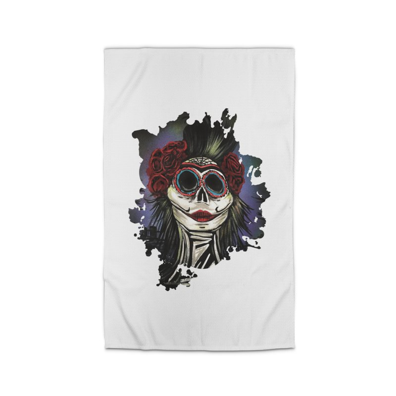Night Of The Dead Home Rug by adamzworld's Artist Shop