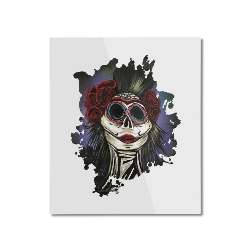 Night Of The Dead Home Mounted Aluminum Print by adamzworld's Artist Shop