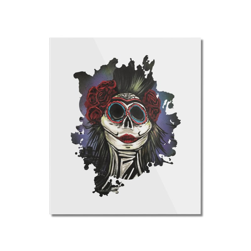 Night Of The Dead Home Mounted Acrylic Print by adamzworld's Artist Shop