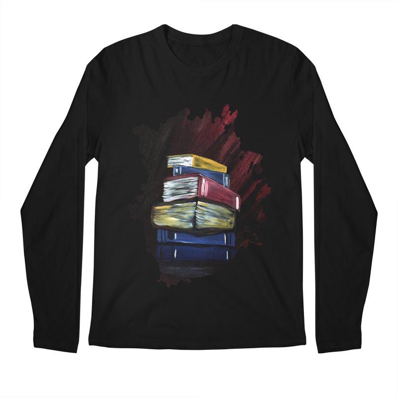 Books Of Knowledge Men's Longsleeve T-Shirt by adamzworld's Artist Shop